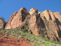 Squarish jagged hills of Zion National Park.jpg